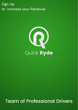 QuickRyde  Driver poster