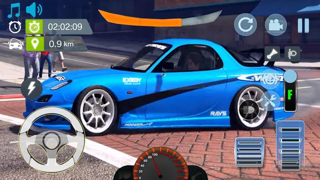 Real City Mazda Driving Simulator 2019 screenshot 2
