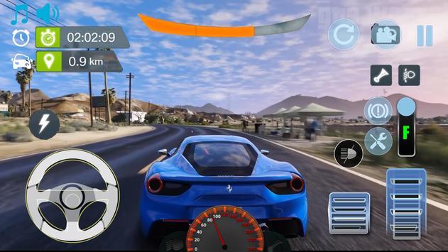 Real City Ferrari Driving Simulator 2019 screenshot 1