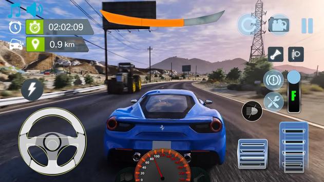 Real City Ferrari Driving Simulator 2019 screenshot 2
