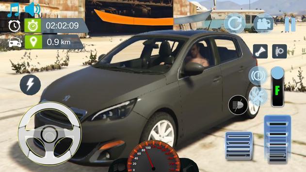 Real City Peugeot Driving Simulator 2019 poster