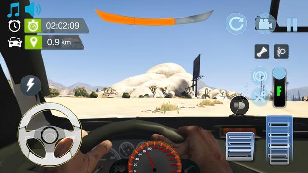 Real City Peugeot Driving Simulator 2019 screenshot 1