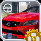 Real City Volvo Driving Simulator 2019 icon