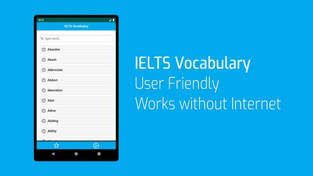 IELTS Words List screenshot 3