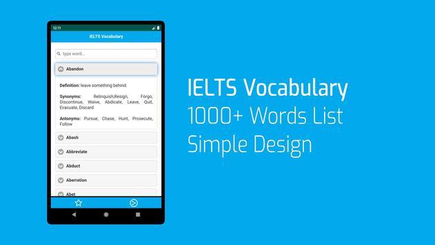 IELTS Words List screenshot 5