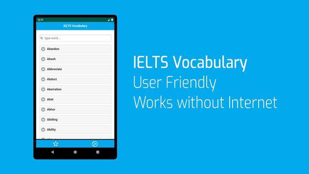 IELTS Words List screenshot 6