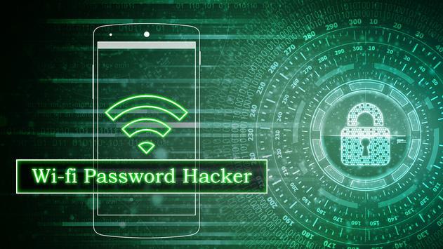 Wifi Password Hacker Prank poster
