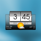 3D Flip Clock & Weather 아이콘