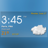 Digital clock weather theme 1 иконка