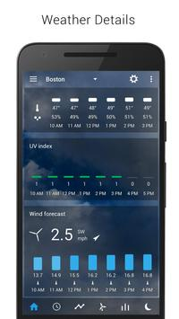 Digital clock & world weather captura de pantalla 3