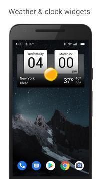 Digital clock & world weather Poster