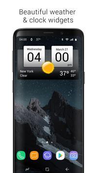 Poster Digital Clock & World Weather