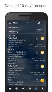 Digital clock & world weather captura de pantalla 13