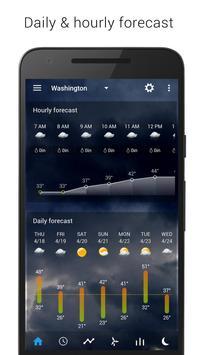 Digital clock & world weather captura de pantalla 2
