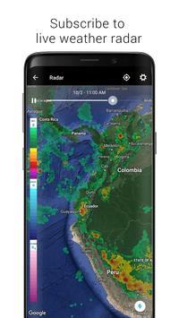7 Schermata Digital Clock & World Weather