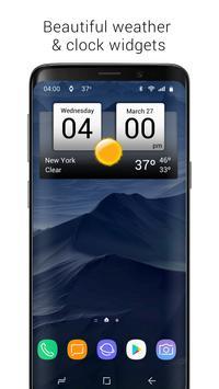 8 Schermata Digital Clock & World Weather