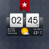 Sense Flip Clock & Weather (Ad-free) icono