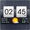 Sense Flip Clock & Weather icon