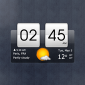 Sense Flip Clock & Weather 아이콘