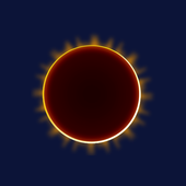 Eclipse weather icons icône