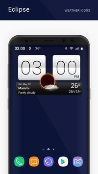 Eclipse weather icons capture d'écran 6
