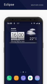 Eclipse weather icons capture d'écran 7