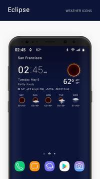 Eclipse weather icons capture d'écran 1