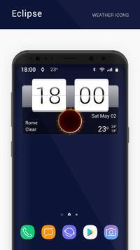 Eclipse weather icons capture d'écran 2