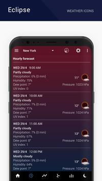 Eclipse weather icons capture d'écran 3