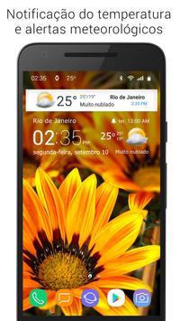 Tempo e relógio transparente imagem de tela 9