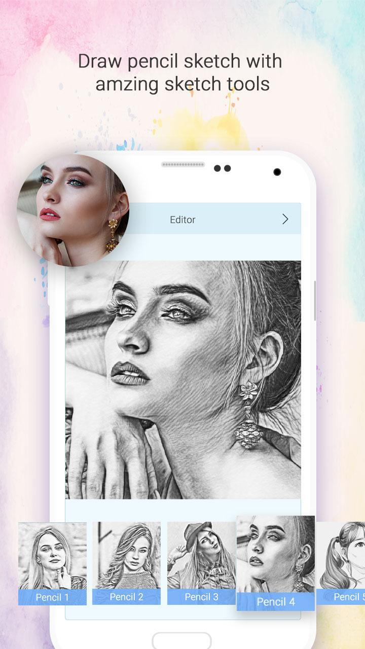 Pencil Sketch Photo   Art Filters and Effects for Android   APK ...