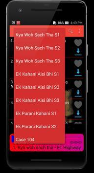 Hindi Horror Audio Story with download option screenshot 2