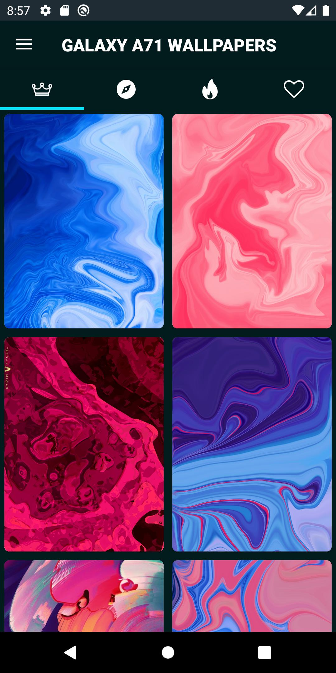 Galaxy A71 Wallpapers For Android Apk Download