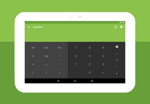 الصيغ الرياضيات - آلة حاسبة تصوير الشاشة 7
