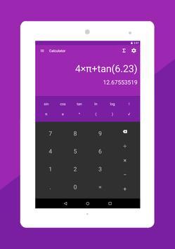 الصيغ الرياضيات - آلة حاسبة تصوير الشاشة 11
