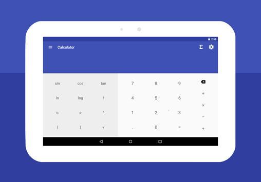 Mathe Formeln : Taschenrechner Screenshot 7