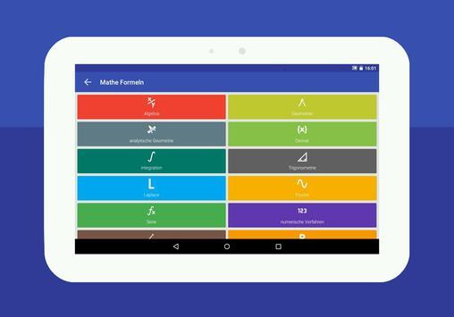 Mathe Formeln : Taschenrechner Screenshot 8