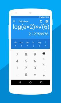 Mathe Formeln : Taschenrechner Plakat