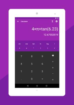Mathe Formeln : Taschenrechner Screenshot 14