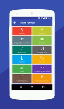 Mathe Formeln : Taschenrechner Screenshot 1
