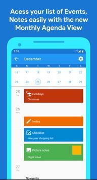Calendar screenshot 2