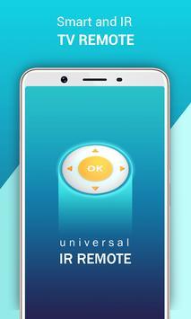 Universal IR TV Remote / Blaster poster