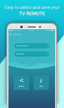 Universal IR TV Remote / Blaster screenshot 1
