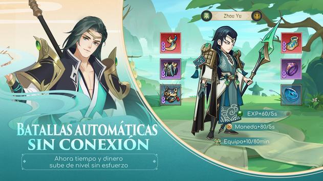 Ode To Heroes captura de pantalla 2
