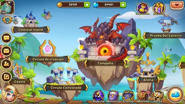 Idle Heroes captura de pantalla 11