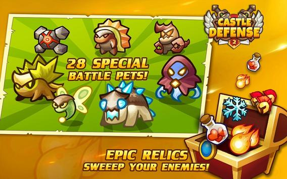 Castle Defense 2 스크린샷 10