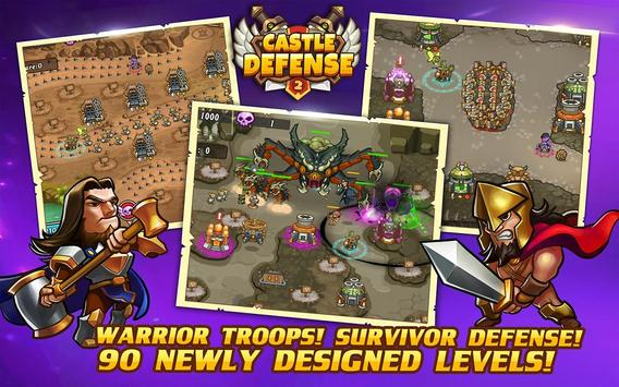 Castle Defense 2 스크린샷 1