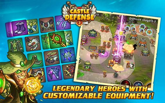 Castle Defense 2 스크린샷 9
