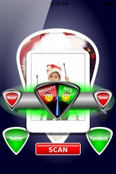 Naughty or Nice Photo Scanner Simulator screenshot 1