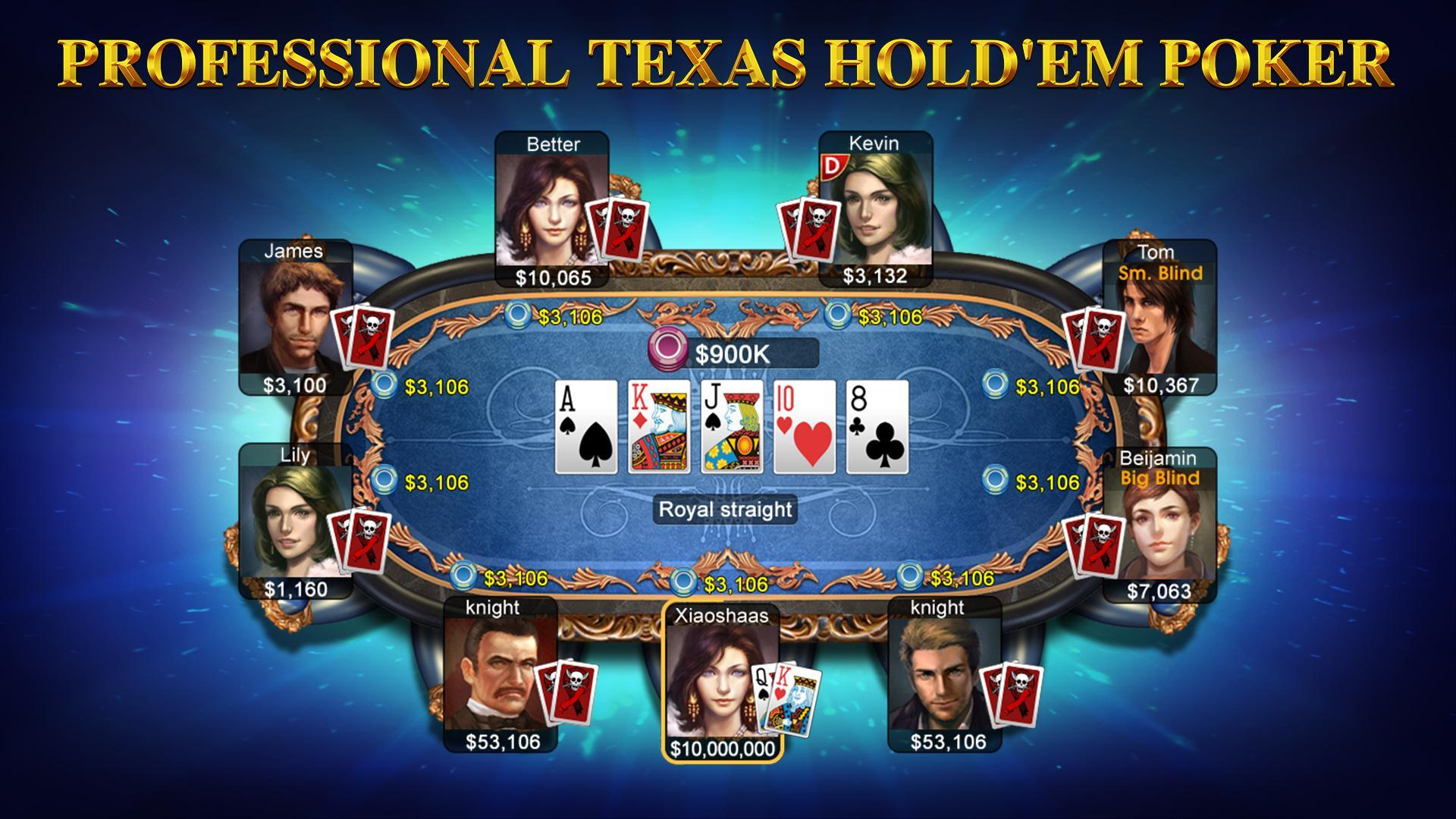 DH Texas Poker poster